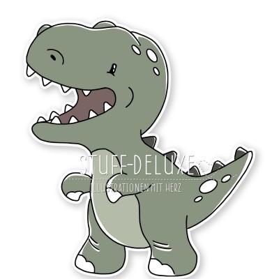 Dino Rexi Doodle Plottervorlage