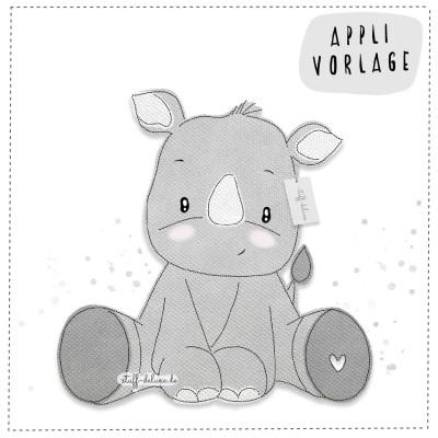 Nashorn Nico Applikationsvorlage