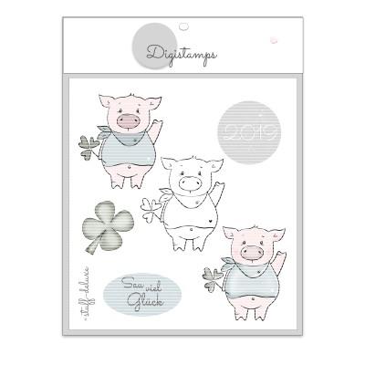 Glücksschwein Digistamp