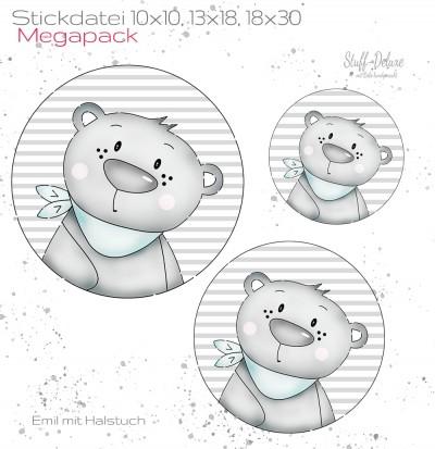 Megapack Emil mit Halstuch 10x10 13x18 18x30