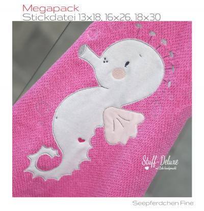 Megapack Seepferdchen Fine 13x18, 16x26, 18x30
