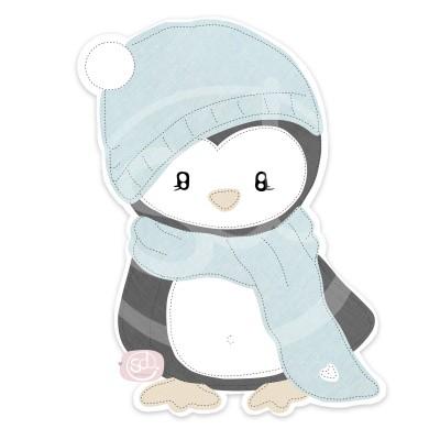 kleiner Pinguin Applikationsvorlage